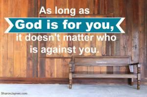God for you